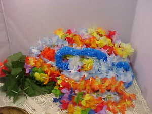 Party Supplies Hawaiin Luau Lot Lanterns Hula Skirts String Lights Bra's Leis