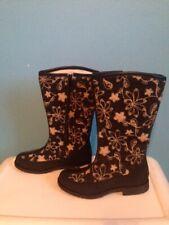 New Womens Winter 100% Felt Sheepskin Wool Boots Valenki, sz.6.5-7