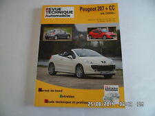 RTA PEUGEOT 207 depuis 04/2006 essence et diesel dont CC   H31