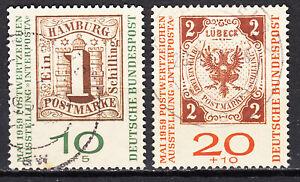 BRD 1959 Mi. Nr. 310-311 b gestempelt LUXUS!!!