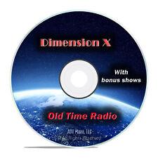 Dimension X, 990 Fantasy and Sci Fi Old Time Radio Shows OTR, DVD CD G09