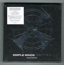 SIMPLE MINDS - BIG MUSIC - DELUXE EDITION - 2 CD + 1 DVD - 2014 - NEUF NEW NEUF