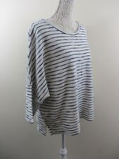 Papaya top from the Weekend range. Size XL. White with navy stripes. Boat neck.