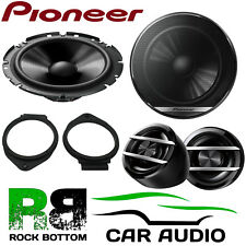 Pioneer Vauxhall Astra J 2010 Onwards 600W Component Rear Door Car Speakers