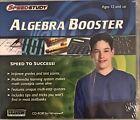 SpeedStudy Algebra Booster Pc New WIN10 8 7 XP Primes Percentages Quadratic More
