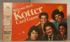 Vintage Welcome Back Kotter Card Game John Travolta