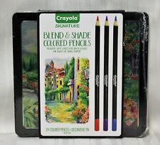 Crayola Signature Set of 24 Blend & Shade Colored Pencils
