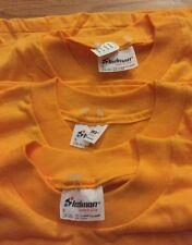 Lot 3 Vintage Stedman Blank 50/50% Co 00004000 tton/ Poly Thin T Shirt. Size S (34-36)