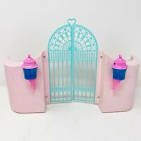 Vintage My Little Pony G1 MLP Paradise Estate Replacement Front Gate with Lights