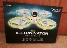 Red5 Illuminator Light Up Drone Miniature RC Stunt Quadcopter 6 Axis Gyro