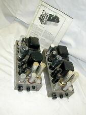 RCA MI-12243 Single-End 6F6 / 6V6 Tube Amplifiers [Pair]