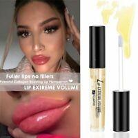 Instant Lip Plumping Serum Gloss Collagen Instant Volumising Plumper Full Buxom