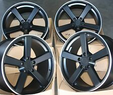 "18"" B MS003 ALLOY WHEELS FITS 5X100 AUDI VW CRYSLER SEAT SKODA TOYOTA VOLKSWAGEN"