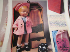 2pg Regal Kiddie Pal Dolly BOBBY ANNE Doll History Article / Ursula Mertz