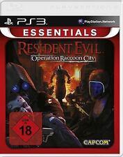 PS3 Playstation 3 Spiel * Resident Evil: Operation Raccoon City ******NEU*NEW*18