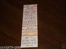Patti Smith Unused Concert Ticket The Stone Pony Asbury Park, New Jersey Usa