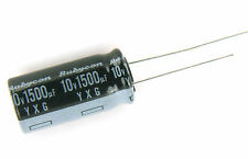10pcs Rubycon YXG  1500uF 10v 105c Radial Electrolytic Capacitor Low ESR