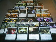 MTG Magic COME INTO PLAY DECK Glimmerpoint Stag M12 Innistrad SoM LOT 2 sided