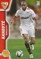 N°286 KANOUTE # MALI SEVILLA.FC TOTTENHAM CARD PANINI MEGACRACKS LIGA 2011