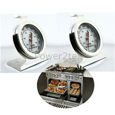 2x CDA Oven Thermometer Stainless Steel Oven Cooker Temperature Agas & Rayburns