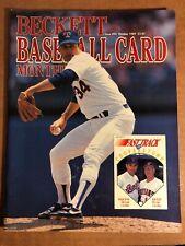 Nolan Ryan Beckett Baseball Card Monthly, October 1989