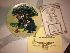 """Knowles """"Easter"""" Commemorative Plate, 1980, by Don Spaulding"""