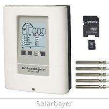 Solarbayer Mehrkreis-Solarregler SC0807 HE Solarsteuerung Solar-Differenzregler