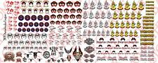 1/18 Custom Tattoos: GI Joe Dreadnok MEGA pack - Waterslide Decals