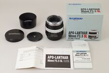2864#GC Voigtlander APO Lanthar 90mm f/3.5 SL Close Focus Lens For Pentax K Mint