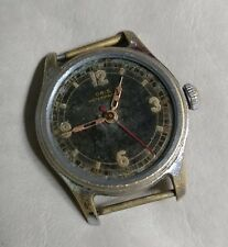 VINTAGE ORIS MILITARY MANUAL WIND SWISS WATCH FOR PARTS FROM 1950