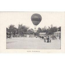 Cartes postale anciennes PARIS porte maillot montgolfière