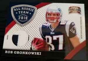 2011 Threads #7 All Rookie Team Rob Gronkowski /99