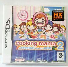 Gioco Cucina Nintendo DS Cooking Mama 2 Ai Fornelli con gli Amici Raro Sigillato