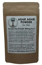 Agar Agar Powder - 2 Ounces (56 Grams) - All Natural Seaweed - U.S. Seller!!!