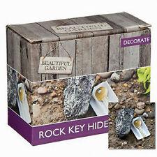 Key Rock Safe Hide Security Store Garden Stone Case
