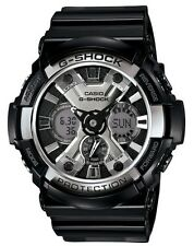 Casio G Shock * GA200BW-1A Stealth Anadigi XL Black Gshock Watch COD PayPal
