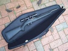 New Rifle Case 48in Shotgun Padded Bag Storage Gun Water Resistant w/ Black Trim