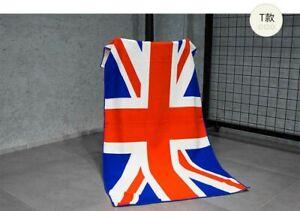 Union Jack flag beach towel 100% cotton size 30x60 inches.380gm. Uk supplier.