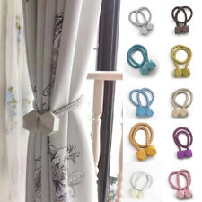 Multifaceted Ball Magnetic Curtain Buckle Holder Tieback Clips Home Window Decor