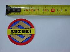 """AUTOCOLLANT STICKER  SUZUKI  MOTO CYCLOMOTEUR ANNEES """"60"""""""