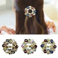 Hairpin Clip Women Barrette Accessories Hair Clips Crystal Girls  Fashion