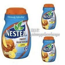 Nestea Instant Sweet Lemon Iced Tea Mix 45.1oz each. 3 JARS total. Discontinued