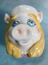 Miss Piggy Coffee Cup,Henson Assoc. Sigma, Ceramic, The Taste Setter, Vintage