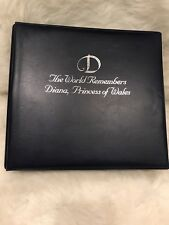 The World Remembers Diana, Princess of Wales Collectible Stamps Album New