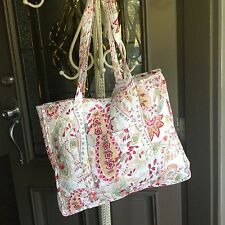 Baroque Quilted Shopper Market Craft Bag Tote
