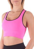 Bellissima Women's Sport Bra Running Yoga Workout Fitness Racerback Seamless