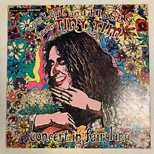 TINY TIM With Love And Kisses - Concert in Fairyland - USED LP VINYL - BOUQUET