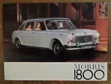 MORRIS 1800 orig 1967 UK Mkt Sales Brochure - BMC 2339/A