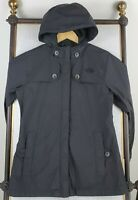 THE NORTH FACE Size Small Womens Black Nylon HyVent Hooded Lightweight Jacket