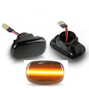 2X LED Side Repeater Indicator Fender Light For Toyota Hilux Vigo Mk6 S